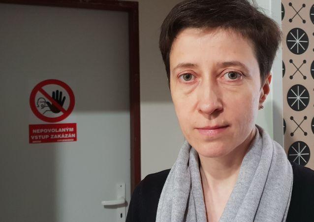 Zoja Guschlová, Ph.D., přední odbornice na azbest v ČR