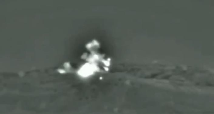 Bylo zveřejněno video raketového úderu