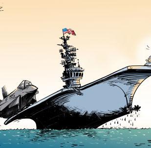 Nejnovější americká letadlová loď je nekompatibilní se stíhacím letounem F-35