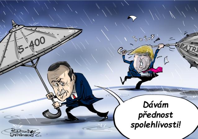 Erdoga a Trump