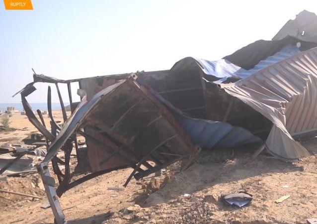 Letecké útoky Izraele způsobují škody v jižním pásmu Gazy
