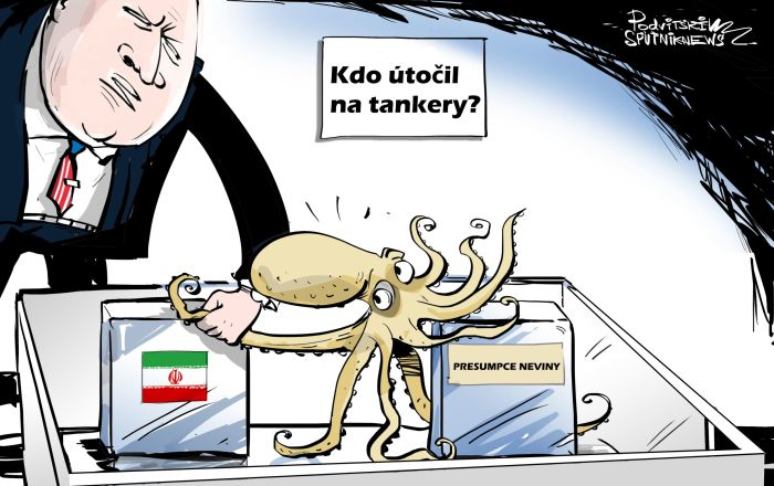 Žádné pochyby! Za to může Írán