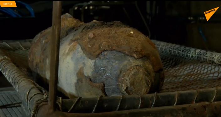 Americká bomba z doby druhé světové války byla nalezena v centru Berlína