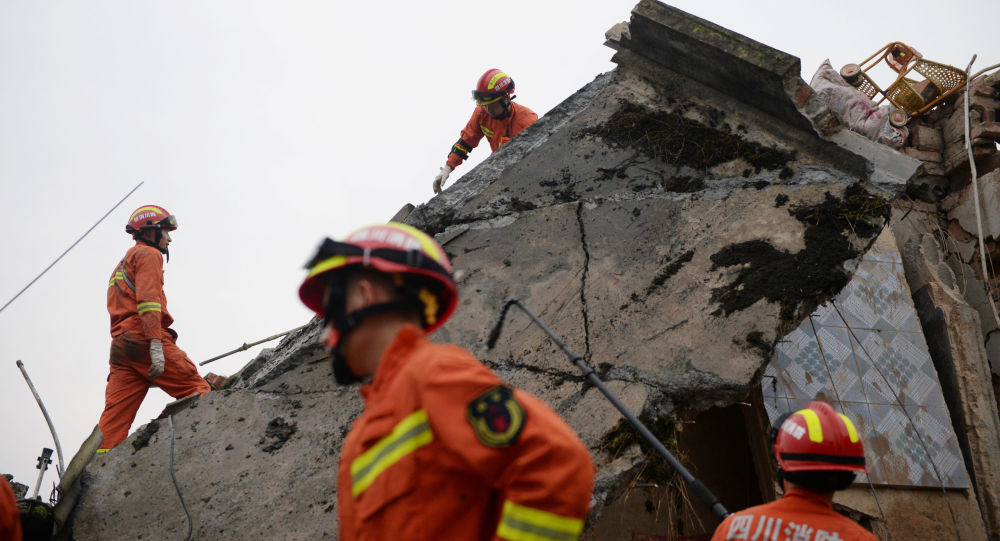 Silné zemětřesení v Číně: 12 mrtvých, 134 zraněných