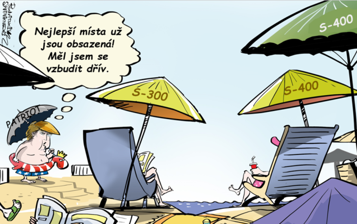 deštník Patriot
