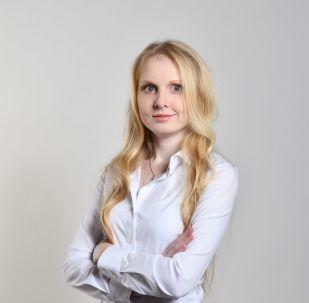 Politička a řidička kamionu Anna Vaculíková