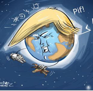 Trump má v úmyslu bojovat i ve vesmíru