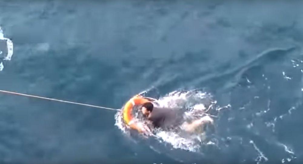 Ruští námořníci zachránili rybáře ze Severní Koreje