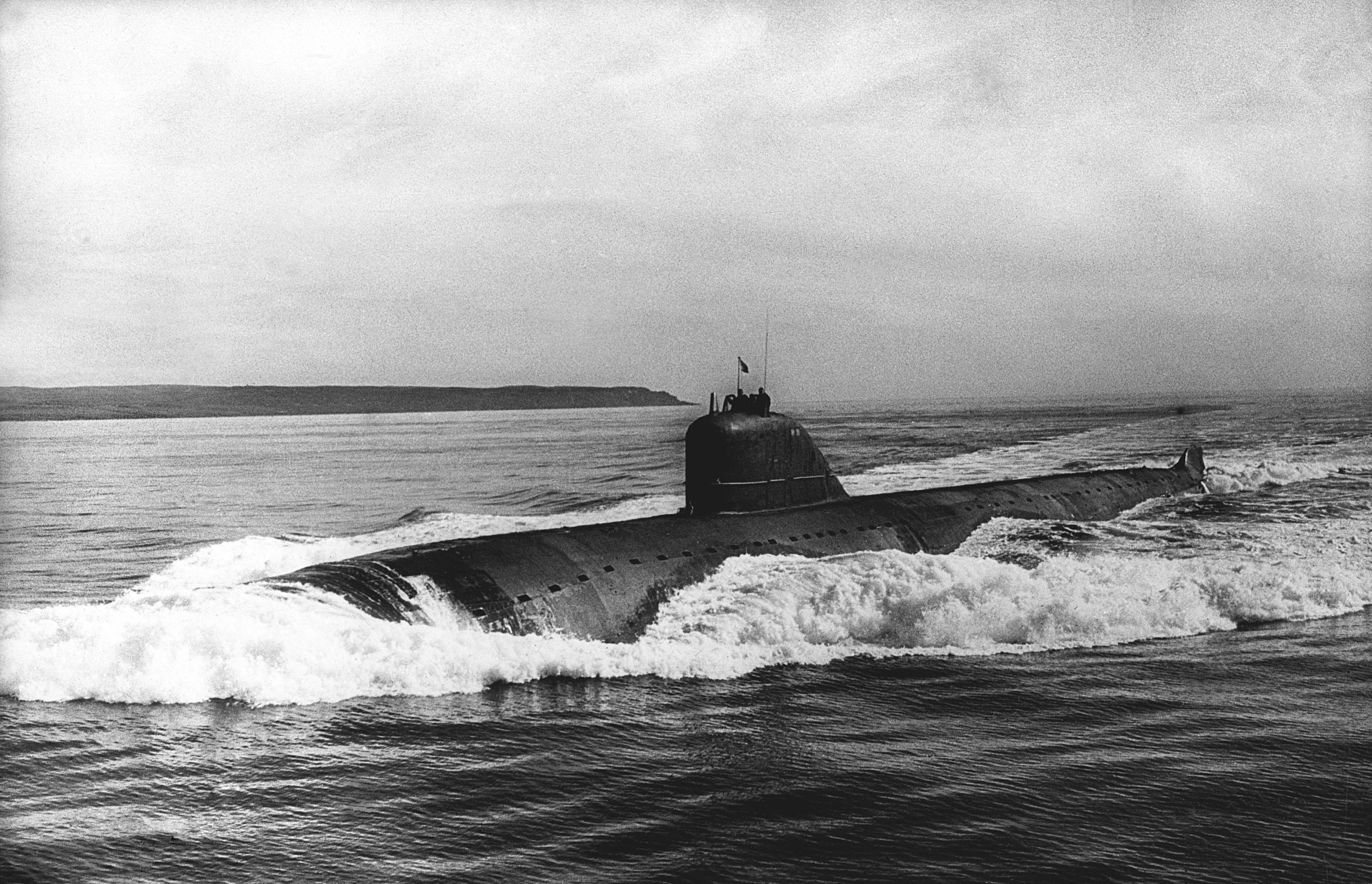 Sovětská jaderná ponorka