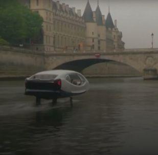 Pohled do budoucna. V Paříži testují létající taxi
