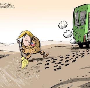 USA zahlazují stopy po odchodu ze Sýrie