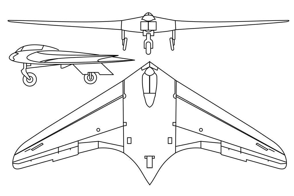 Horten H.IX V1