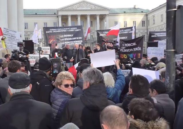 Protest v Polsku
