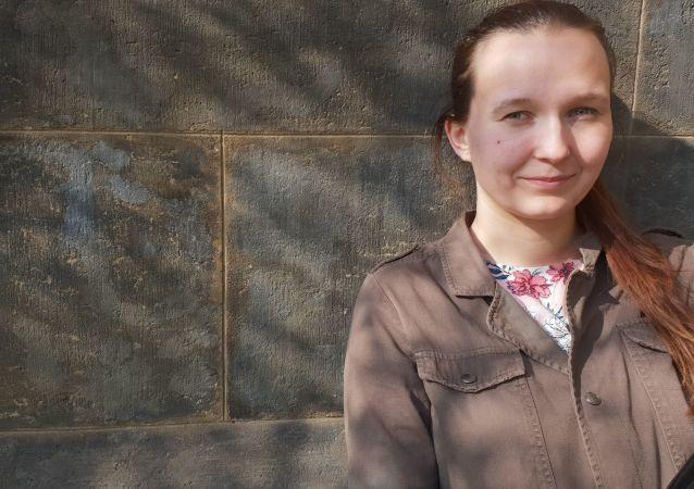 Terezie Žofková jediná Češka-mechanička na Ruzyni