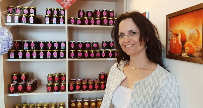 Linda Kamarádová a marmeláda její výroby