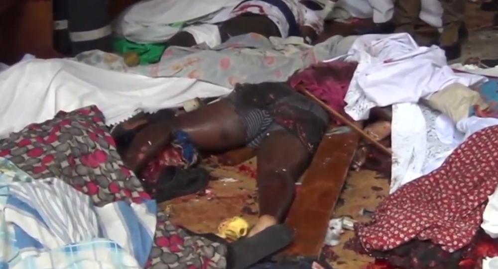 Srí Lanka: Celý kostel je v loužích krve po výbuchu bomby na Velikonoce