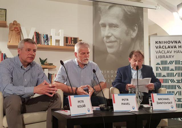 Přednáška v Knihovně Václava Havla