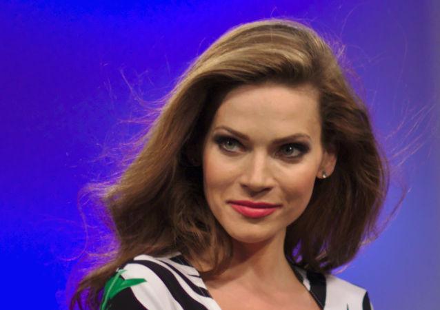 Slovenská modelka Andrea Verešová.