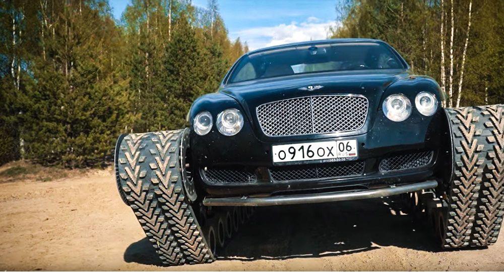 To jste ještě neviděli: Bentley změnili do tanku