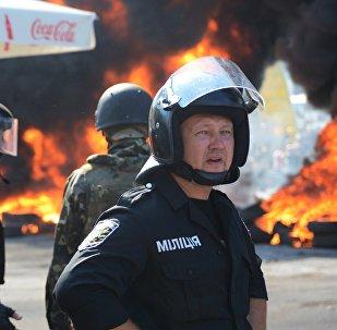 Situace na Majdanu v Kyjevě