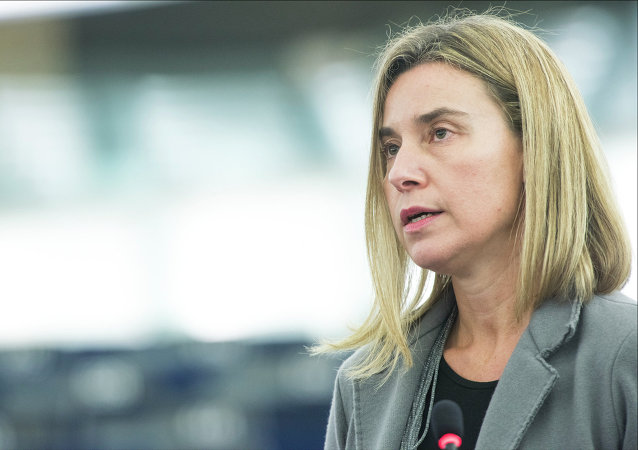 Šéfka evropské diplomacie Federica Mogheriniová