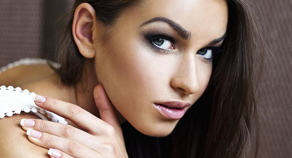 Ukrajinská modelka Hanna Durycká