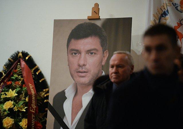 Loučení s Borisem Němcovem