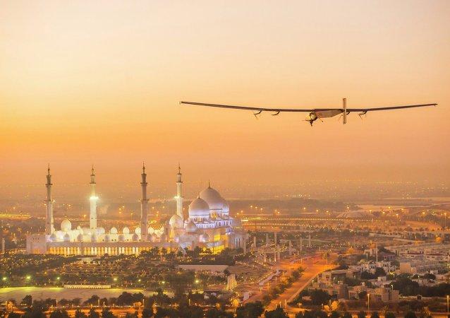 Letadlo na sluneční baterie Solar Impulse 2