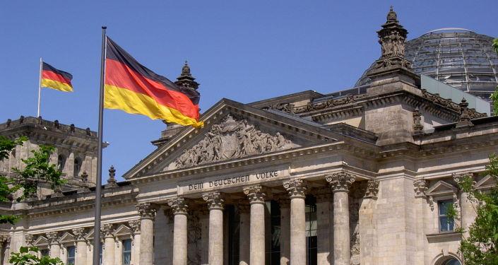 Budova Říšského sněmu v Berlíně. Ilustrační foto