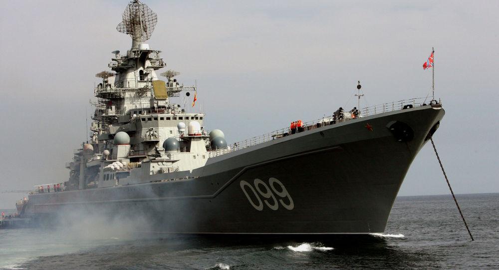 Ruský raketový křižník Pjotr Velikij
