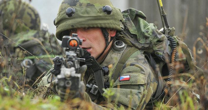 Český voják