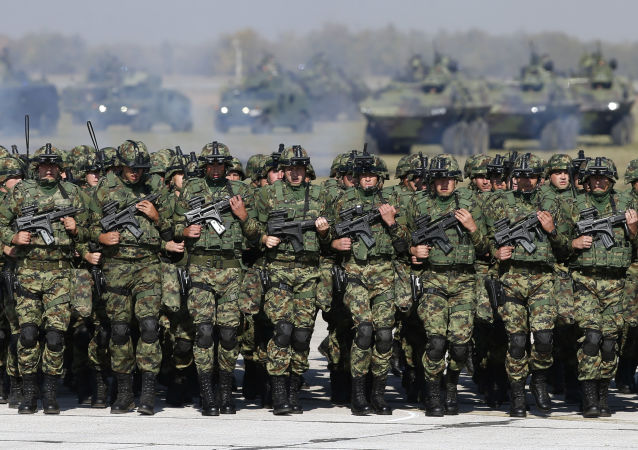 Srbští vojáci