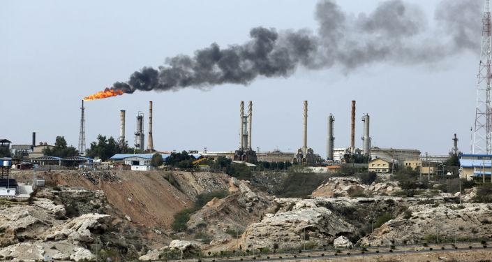 Íránský ropný průmysl