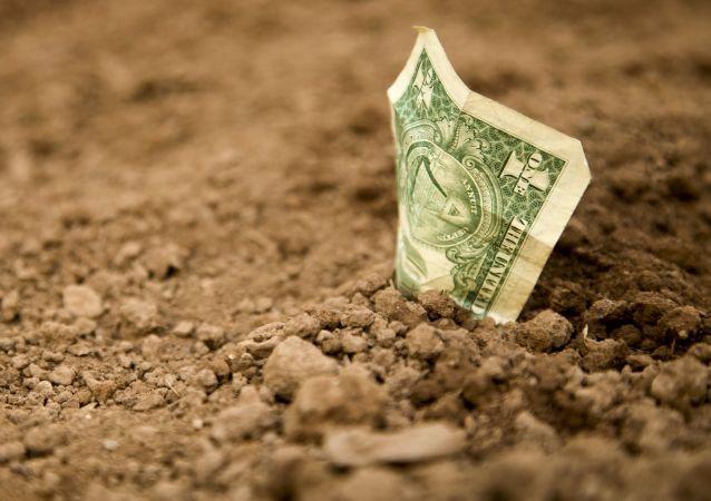Dolar v zemině