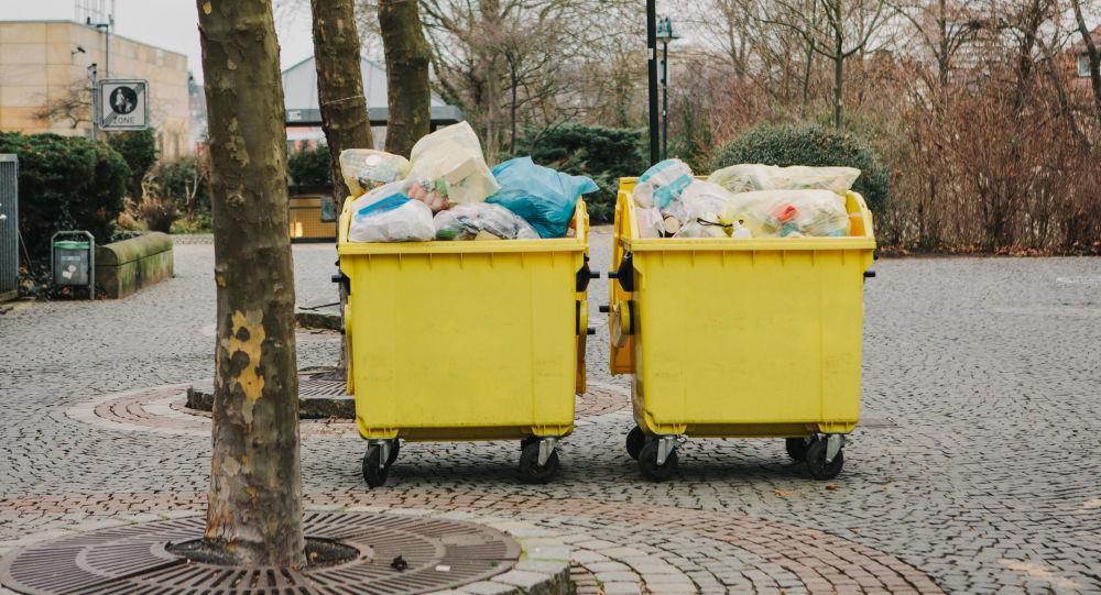 Kontejnery  na odpad v Německu