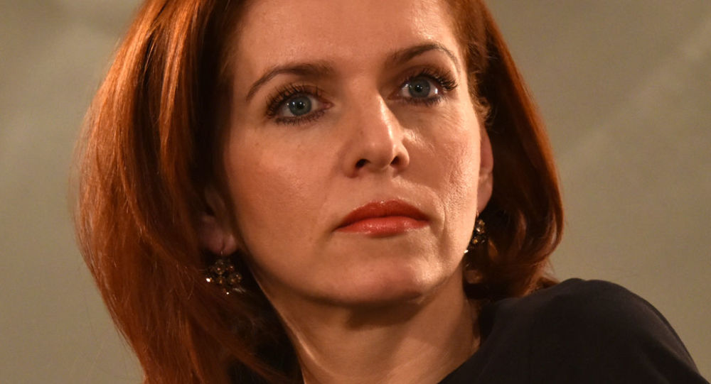 Moderátorka ČT Nora Fridrichová