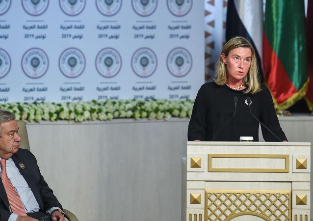 Šéfka diplomacie EU Federica Mogheriniová