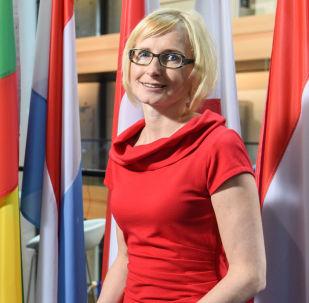 Eurospolankyně za KSČM Kateřina Konečná