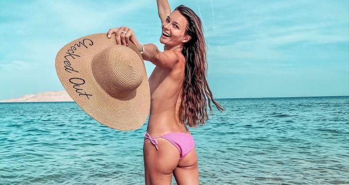Česká modelka Nikol Švantnerová
