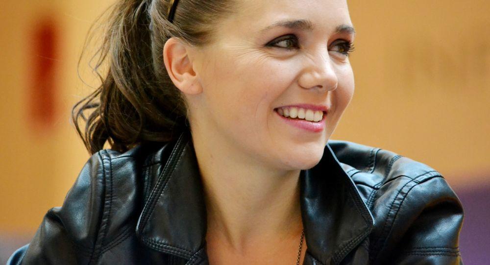 Herečka Lucie Vondráčková