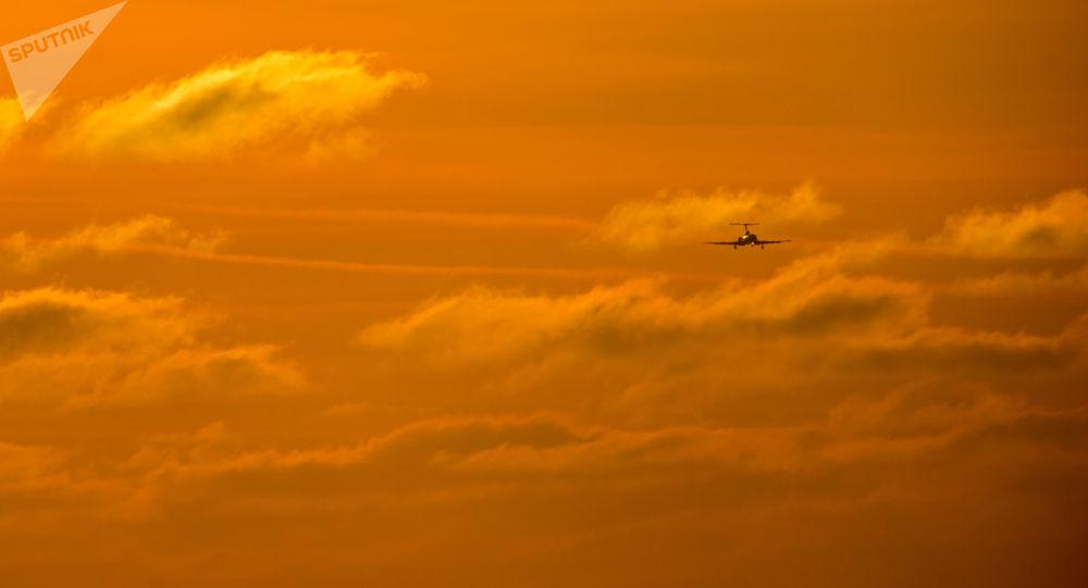 Letadlo. Illustrační foto