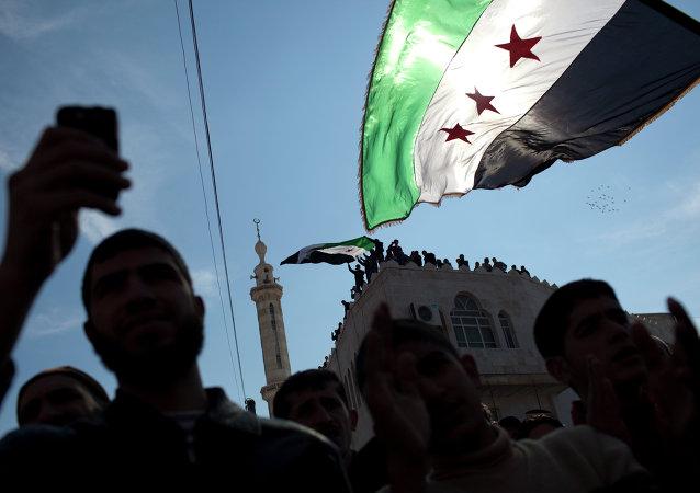 Vlajka syrské opozice