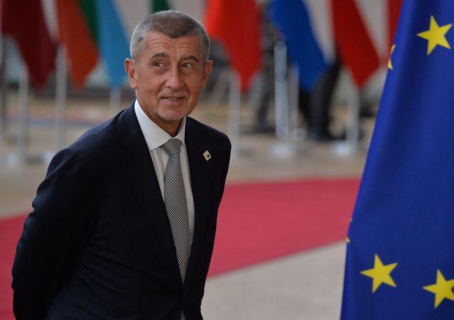 Premiér České republiky na summitu EU v Bruselu