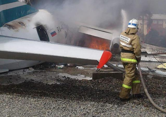 V Rusku havarovalo letadlo An-24