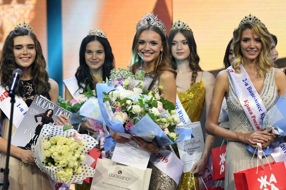 Vítězka 25. ročníku Krása Ruska Anna Bakšejeva.