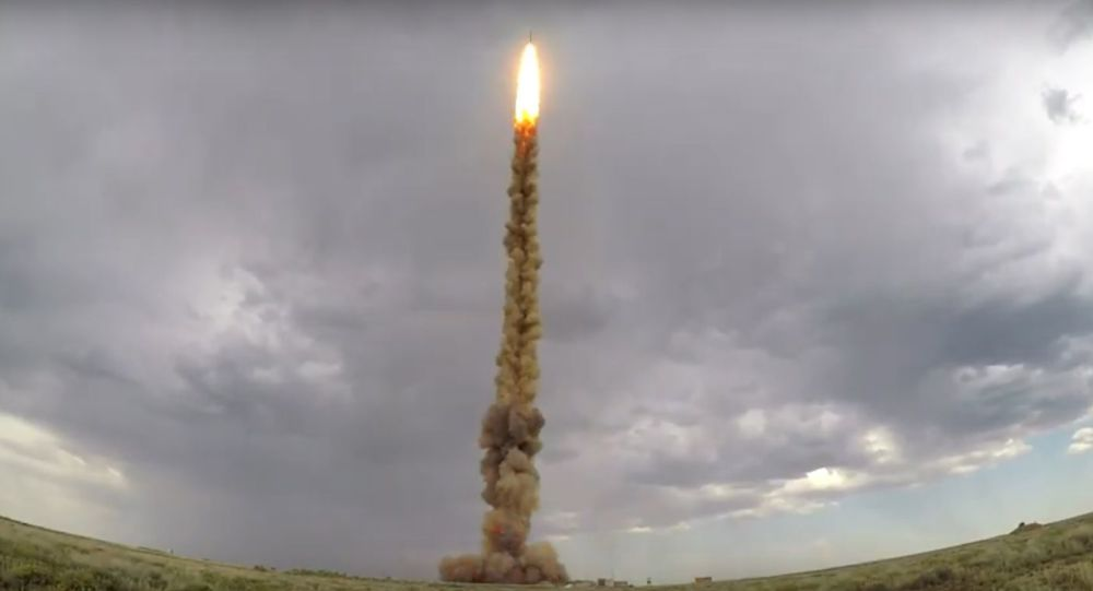 Bylo zveřejněno video testu nové rakety ruské protiraketové obrany