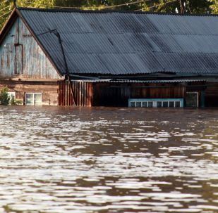 Povodeň v Irkutské oblasti: Snímky ze země, ze vzduchu a z vesmíru.