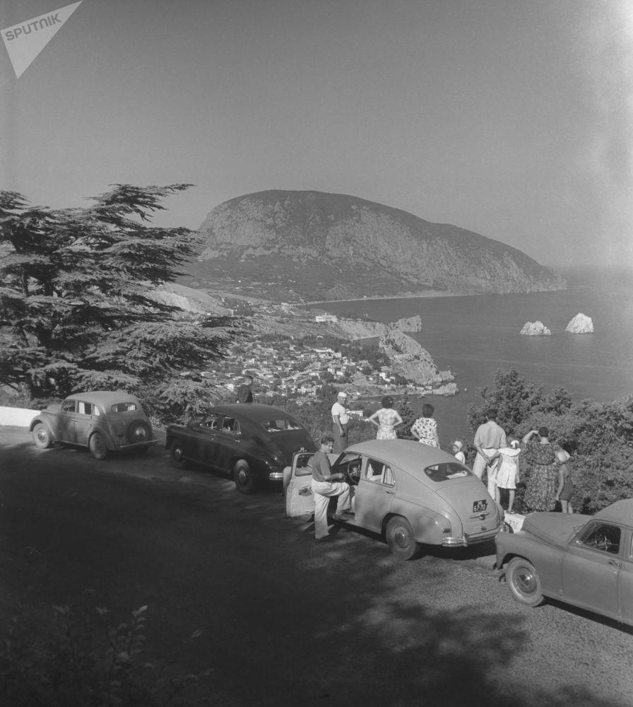 Rodinná dovolená na Krymu. 1955.