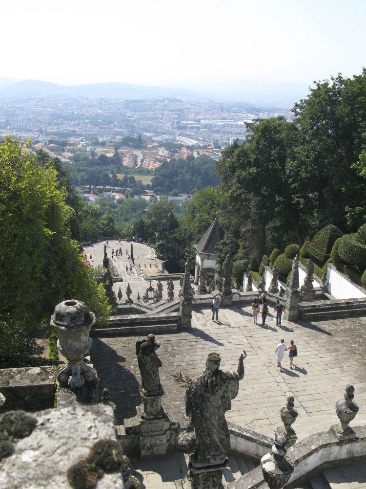 Architektonický a krajinný komplex Bom Jesus v portugalském městě Braga