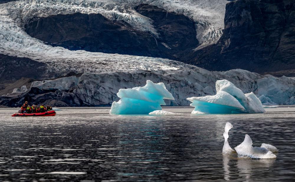 Národní park Vatnajökull na Islandu